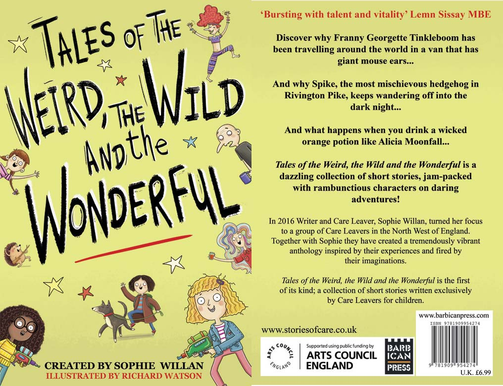 Sophie Willan Tales of the Weird, the Wild and the Wonderful